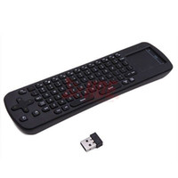 Wholesale RC12 Wireless Air Fly Mouse Keyboard Remote Control MINI PC Android TV Box Media