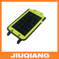 Wholesale Hot Sale W Portable Solar Charge For Mobile Phone Foldable USB Battery Charger Wallet Bag