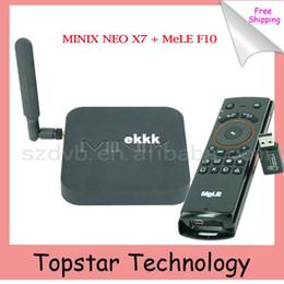 online shopping MINIX NEO X7 Android TV Box MeLE F10 Flying Air Mouse RK3188 Quad Core Mini PC G OTG XBMC AirPlay DLNA Smart TV Box