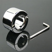 Wholesale 650g Male Stainless Steel Ball Stretcher High Quality Sex SM Toy For Men Extreme g Scrotum Bondage Chastity Ring