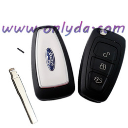 Wholesale Ford button remote key with Focus blade mhz