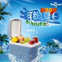 Cheap Auto refrigerator portable mini box Auto heating box breast insulin 6l 8l