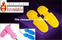 Wholesale free DHL F3 Electric Extendable Shoes Dryer Heater with Dehumidify Disinfector Deodorizer Shoe warmer pair