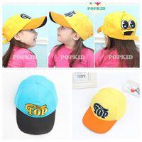 Wholesale High Quality Children caps Kids Baseball Cap Fashion Letterns Embroidery Sunhat Visor cap