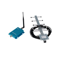 Wholesale MHz GSM Repeater Booster Mobile Phone Power Amplifier with dBi meters Cable Yagi Antenna