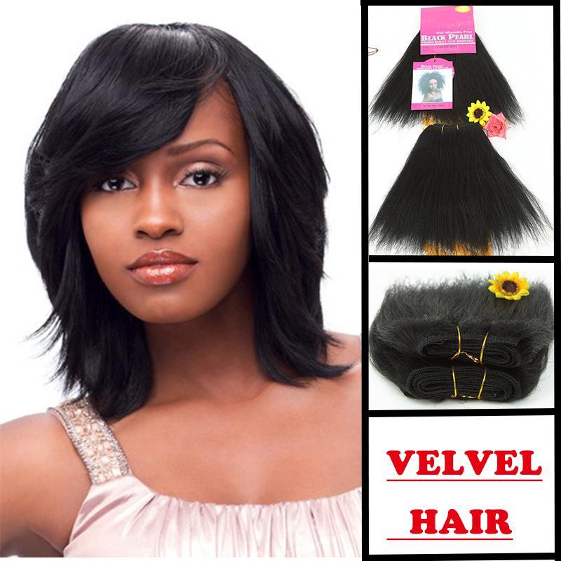 Hair Blended Blend Synthetic Hair Weave