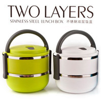 Cheap New Quality Double Layer Stainless Steel Children Lunch Box 1.4L Keep Warm(1-2 hours) Food Container For Kids Hot Sale BFCF-14