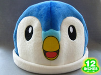 "2-4 Years Multicolor Metal Free Shipping Japanese Anime Cartoon Pokemon Articuno Freezer Cosplay Warm Hat Plush Toy Plush Hat 12"" Chritmas Brithday Gift"