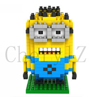 Wholesale Despicable Me Bricks Cartoon Film Kids Toys Building Set Child Blocks Adorable Children Birthday Gifts Building Block Toys T016
