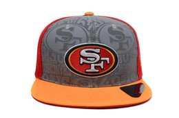Wholesale 49ers Snapbacks Draft Highly Reflective Surface Snapback Caps America Football Snap Backs Hats Hot Sale Snap Back Caps Sports Hat Cap