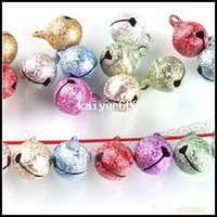 decoration jewelry colors - 240pcs Mixed Colors Small Jewelry Bells Findings Christmas Decoration Jingle Bells