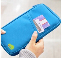 Wholesale New Fashion Card holders women Passport bag Oxford fabric small handbag