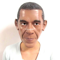 Cheap U.S. President Barack Obama Mask Natural Latex Ecology Healthful Masquerade Halloween Christmas Party Presidential Election Mask