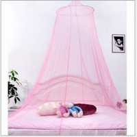 Cheap Summer Hot Selling !New Good Sleeping Graceful Elegant Bed Curtain Netting Canopy Mosquito Net Free Shipping