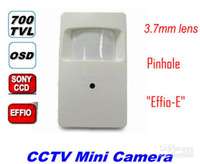 Cheap Wholesale - CCTV Security HD 700TVL Sony Effieo-E Mini Hidden Camera Pinhole 3.7mm Digital WDR (ATR) OSD 2D DNR