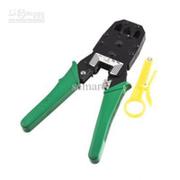 Wholesale RJ45 RJ11 RJ12 CAT5 Network Lan Cable Wire Crimper Crimp PLIERS PC Network Tools
