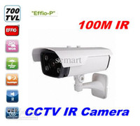 Cheap Wholesale - HD 100M Long Range 700TVL Sony EFFIO-P CCD CCTV IR Array Security Camera Outdoor Weatherproof cam