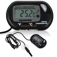 Wholesale Hot Sell Digital Aquarium Fish Tank LCD Thermometer Black TK0215