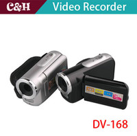 Wholesale 1 quot TFT LCD MP HD P Digital Video Camcorder Camera x Digital ZOOM DV Silver Free Sipping amp