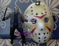 Wholesale jason the whole network retro finishing mask almiscar HOCKEY HALLOWEEN Jason Voorhees masque masquerade vintage style free ship