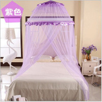 Cheap Brand New High Qulity Bed Canopy Netting Curtain Dome Fly Mosquito Midges Insect Stopping Net Outdoor Freeshipping Dropshipping