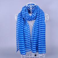 women muslim scarf - 2014 women fashion printe stripe cotton shawls viscose shade long wrap hijab muslim head scarves scarf