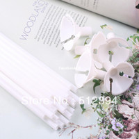 Cheap Free shipping Wedding decoration supplies 100pcs lot white thicken balloon sticks and cups wholesale balloon holder accessories
