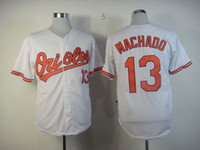 Wholesale Orioles Authentic Manny Machado Baseball Jersey White Baltimore Team Baseball Wear Cheap Sports Shirts Best Quality Sporting Jerseys