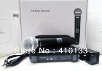 Wholesale handheld PG24 PG58 Stage Performance Wireless Microphone System PG4