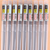 Wholesale 2014 hot sale real kinds bulk retail h mm mechanical pencils lead refill high quality pack