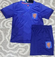 Wholesale Holland Netherlands Soccer Jerseys Football Jersey Kids Youth Children Uniforms Kits Clothing Discount World Cup Shirts Cheap Thailand
