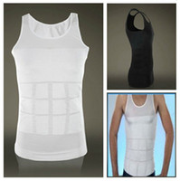 Wholesale New men absorbant underwear body shaper belly cincher waist tight lose weight balck and white shapers