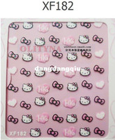 Wholesale Wholesales Price Hot Sale Nail Art D Nail Sticker D Beauty Nail Patch Hello Kitty Style