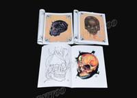 Wholesale DHL free Remember Death Tattoo Book SKULL Tattoo Flash Tattoo Manuscript