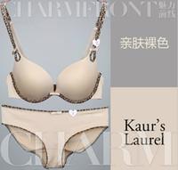 Wholesale Women s Underwear Ladies bra set bra Gathered sexy BoMo cup Gather underwear glaze womens sexy underwear bow leopard print