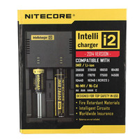 e cigarette battery - Genuine Nitecore I2 Universal Charger for Battery E Cigarette in Muliti Function Intellicharger Rechargeable