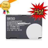 Cheap Wholesale-3pcs Lot Free DHL Battery For BR50 Motorola RAZR V3 RAZR V3c RAZR V3i U6 Battery Bateria AKKU PIL free shipping