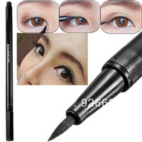 Cheap Women Makeup Cosmetic Waterproof Liquid Black Thin Design Eyeliner Pen Eye Liner Pencil New