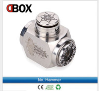 Cheap 2014 new chi you mod e cigarettes ecigs hammer mod clone hammer Mechanical Mod with 18350 18500 and 18650 battery 510 thread