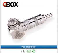 Cheap 2014 hot chi you mod e cigarettes ecigs hammer mod clone hammer Mechanical Mod with 18350 18500 and 18650 battery 510 thread