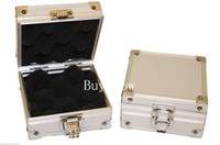 accesories box - Small Aluminum Silver Tattoo rotary gun Machine grip tube tip Box Case Kit Supply tattoo accesories