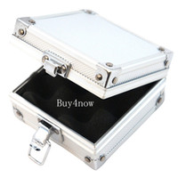 tattoo machine case - Small Aluminum Silver Tattoo rotary gun Machine grip tube tip Box Case Kit Supply tattoo accesories