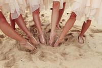 Wholesale 2014 Fashion Shining Crystals Beach Barefoot Sandals Beach Wedding Accessories Body Jewelry
