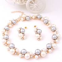 Cheap pearl jewelry sets Best costume jewelry set