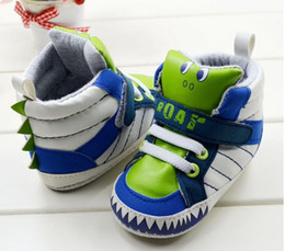 Wholesale Autumn Winter Toddler Baby Shoes Cute Cartoon Dunk High Cotton First Walk Boot Infant Boot Babies Shoes Sneaker GX433
