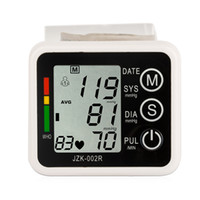 Automatic blood pressure - Automatic Digital Wrist Blood Pressure monitor and Pulse Monitor Sphygmomanometer Portable Blood Pressure Monitor Health Care