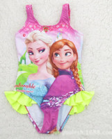 2014 Children Frozen Queen Princess Elsa Anna Sleeveless Car...