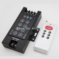 led controller - DC12V V w w A Iron shell Wireless RF Remote RGB Controller LED Dimmer for LED Strip
