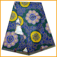 Wholesale New fashion pattern real wax prints cloth African cotton real wax fabric online