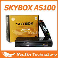 Wholesale 2014 newest Original Skybox AS100 Android TV Box DVB S2 Card Sharing Combine Receiver Android TV Box Satellite Receiver